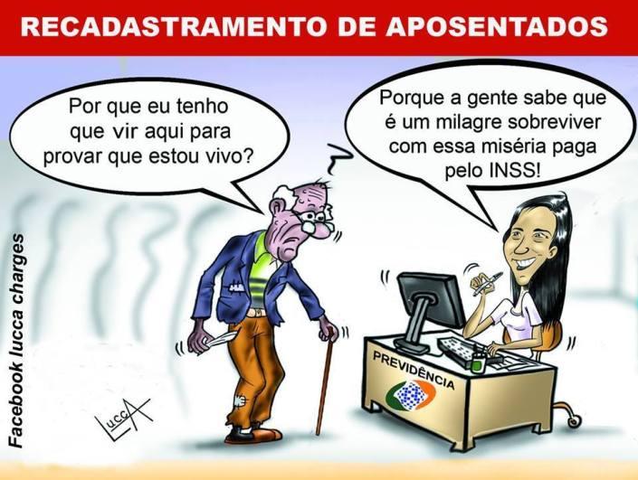 CHARGE APOSENTADOS