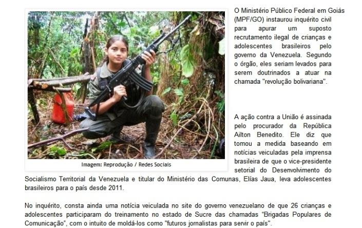 crianças venezuela